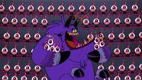 S1e9b Monster singing