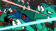 S1e3a Monsters fighting half 2 - closeup