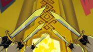 S1e5b Goats raising swords