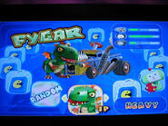 The Fygar In Video Game Call Pacman World Rally
