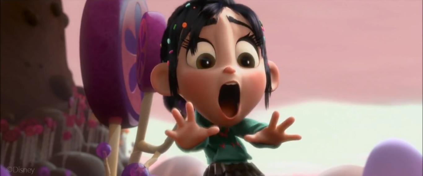 Image - Vanellope Screaming.jpg | Wreck-It Ralph Wiki | Fandom powered