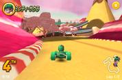 Minty Sakura in Sugar rush Speedway