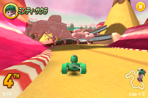 sugar rush game racing game