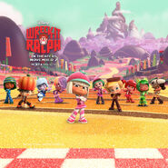 The racers from sugar rush speedway by thekirbykrisis-d5hmx25