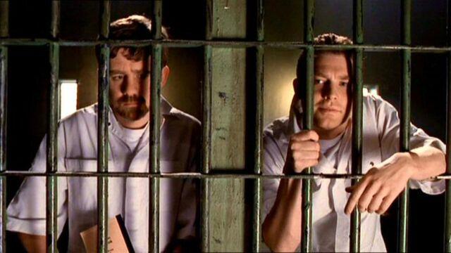 File:John Fitzgerald Byers and Jimmy Bond in prison.jpg
