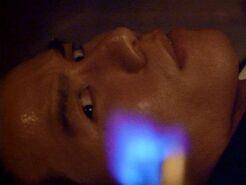 Glen Chao in oven