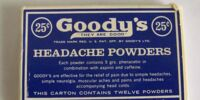 Goody's Headache Powder