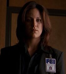 Monica Reyes with long hair