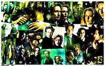 Xfiles comic collage wallpaper by destinysolo-d4c6bk1