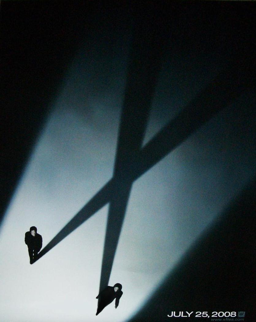 First poster image  released  X Files Poster