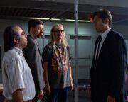 Fox Mulder and the Lone Gunmen (1989)