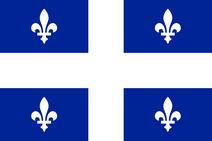 Flag of Quebec svg