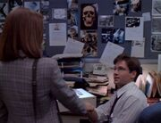 Dana Scully meets Fox Mulder First time