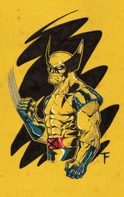 Wolverine in yellow by kid destructo-d30d2d0