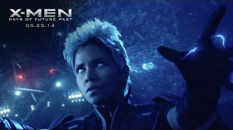 "X-Men Days of Future Past ""Storm"" Power Piece HD 20th Century FOX"