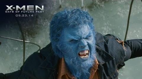 "X-Men Days of Future Past ""Beast"" Power Piece HD 20th Century FOX"