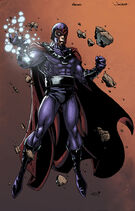 Ultimate Magneto artwork by Jonboy Meyers and Logicfun (2012)