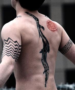 Godric tattoos
