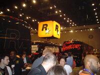 Rockstar buses at e3 2005