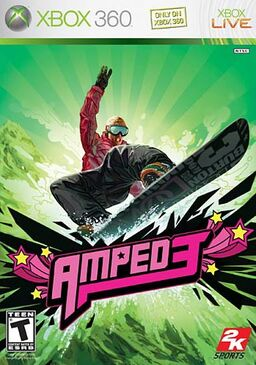 Amped 3 cover