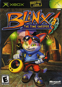 Blinx - The Time Sweeper Coverart