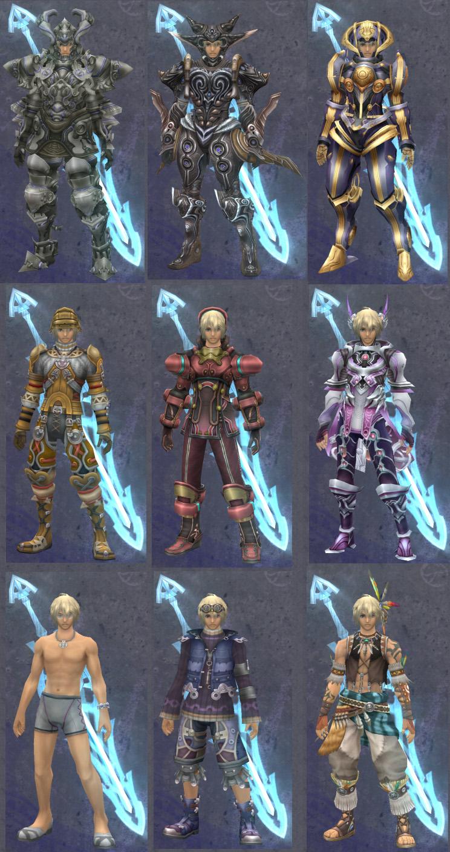 Xenoblade Chronicles Shulk Armor FileCompilation Armor ShulkXenoblade Chronicles Shulk