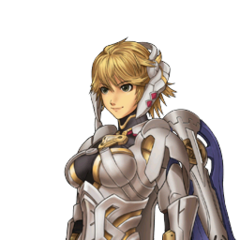 Fiora's portrait from <i>Project X Zone 2</i>