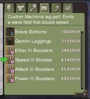 Speed III Booster name