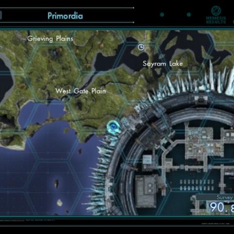 Map showing Casper's location