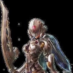 Fiora in Mechonis armour