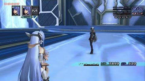 Xenosaga Episode III - KOS-MOS (Pre Fully Awakened) All Techs and Special Attacks