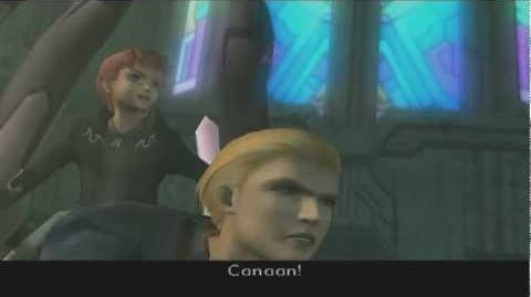 Xenosaga III HD Cutscene 302 - Canaan's Feelings (Archon Cathedral) - ENGLISH - REGULAR MODE