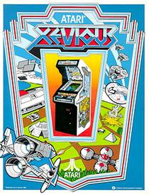 Xevious Poster