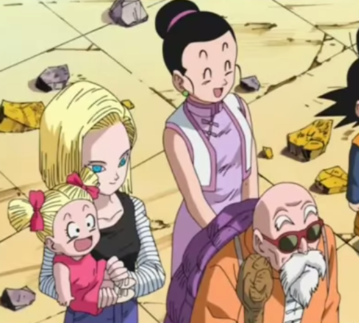 how did krillin meet android 18