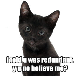 Redundant39