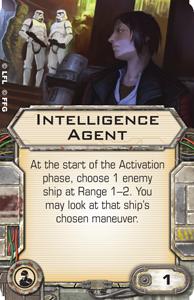 Intelligence Agent | X-Wing Miniatures Wiki | Fandom powered by Wikia
