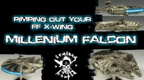 How to Paint a Fantasy Flight X-wing FALCON-0
