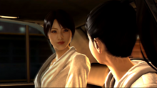 Park smiles at Haruka before Haruka leaving