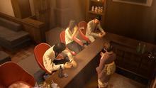 Nishiki,Yumi,Kiryu and Reina talking fun