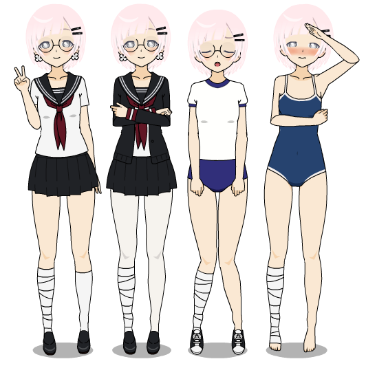 Image - Dai school outfits.png | Yandere Simulator Fanon Wikia | Fandom powered by Wikia