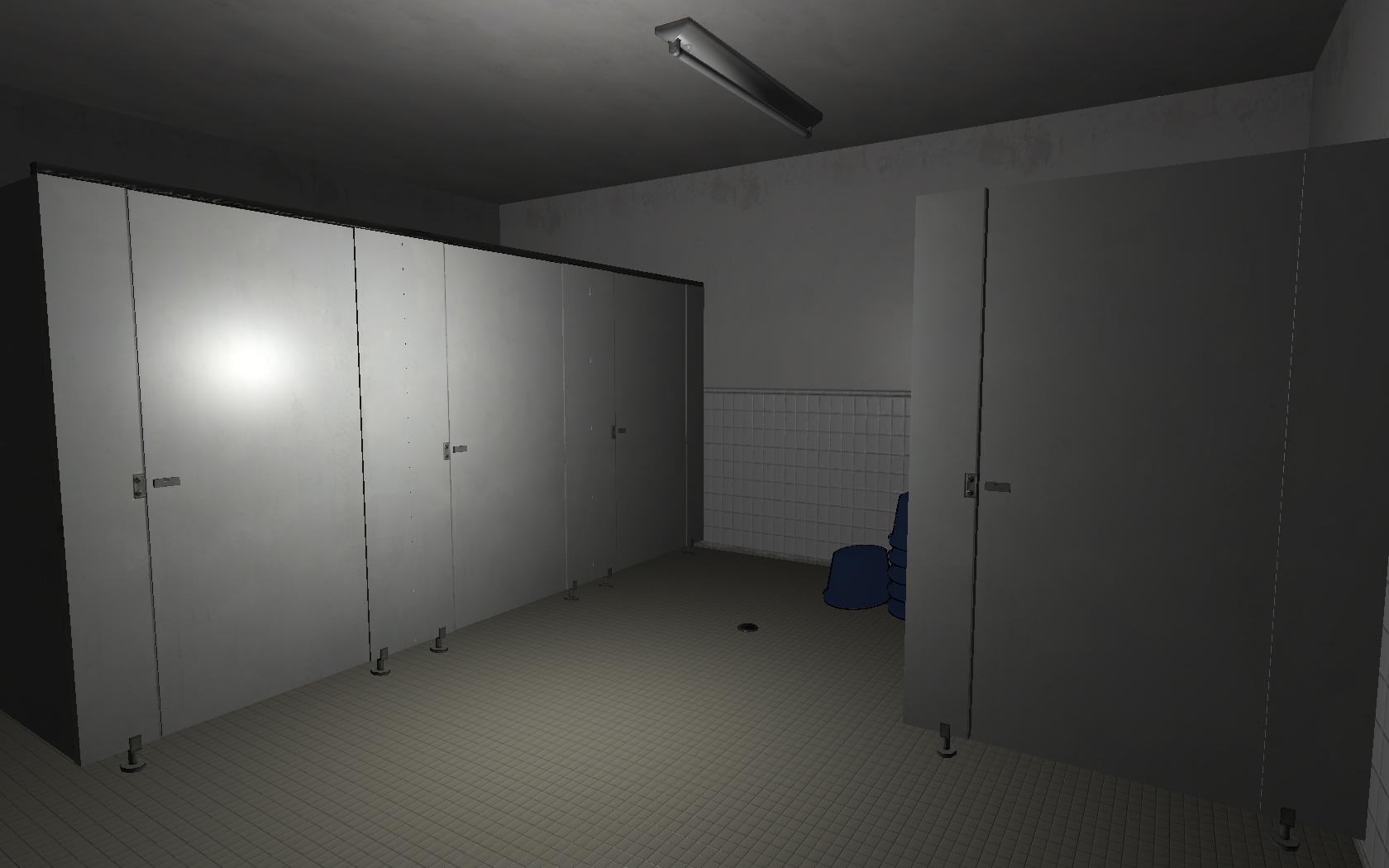 The Third Floor Bathroom.