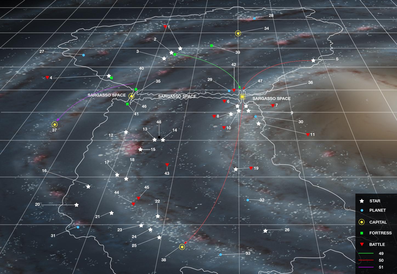 Image giant map jpg legend of galactic heroes wiki fandom