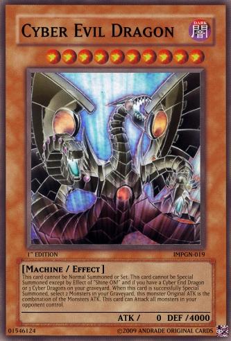 Cyber Evil Dragon   Yu... Dark Cyber End Dragon