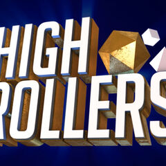 High Rollers D&D logo (current since Session 7)
