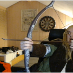 Zylus as Legolas.