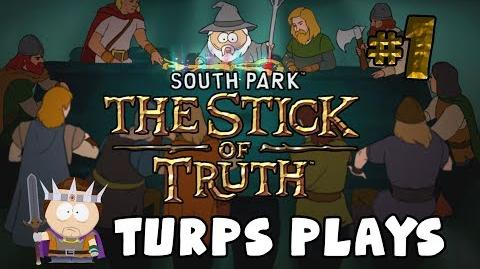New Kid - SOUTH PARK THE STICK OF TRUTH - Turps Plays 1