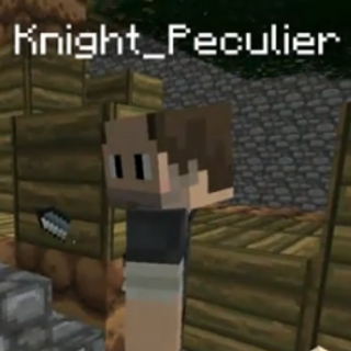 Knight Peculier as seen in Minecraftia.