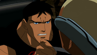 Superboy lashes out