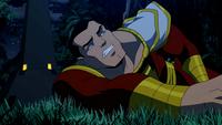 Captain Marvel caught