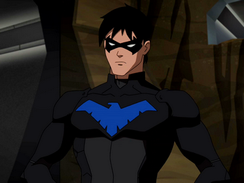 Young Justice season2 NIGHTWING and more by ajb3art on DeviantArt